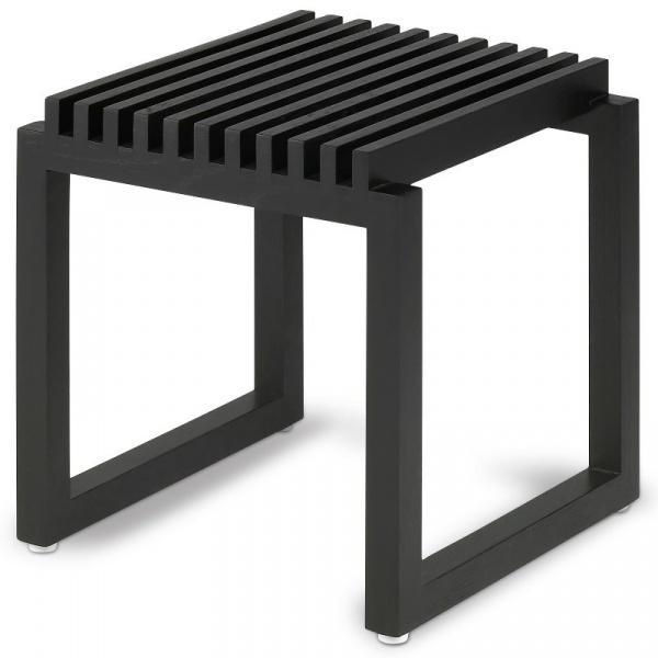Dębowy taboret Skagerak Cutter Black S1920466