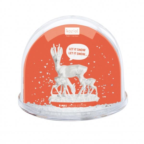 Dekoracyjna kula Koziol Dream Globe Let It Snow! KZ-6222103