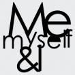DekoSign ME MYSELF & I  MMI1-1