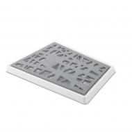 Deska do krojenia pieczywa Koziol Matrix szara