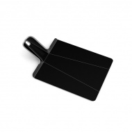 Deska do krojenia składana Joseph Joseph Chop2Pot Plus mała czarna