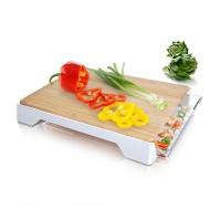 Deska do krojenia z szufladą Tomorrows Kitchen biała