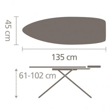 Deska do prasowania rozmiar D Fern Shades Brabantia
