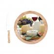 Deska do serów z nożami 4 szt. obrotowa Nuova R2S Gift 527 ENC