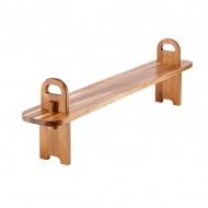 Deska do serwowania 95 cm Ladelle Tapas Plank brązowa