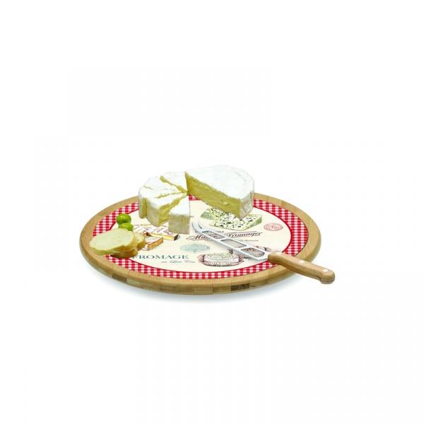 Deska obrotowa do serów z nożem Nuova R2S Maitre Fromager 888 MAFR