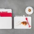 Deska śniadaniowa Koziol Happy Boards Delicious malinowa KZ-3262583
