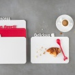 Deska śniadaniowa Koziol Happy Boards Delicious szara KZ-3262632