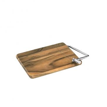 Deska z nożem do sera 25 x 18 cm Zassenhaus akacja