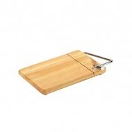 Deska z nożem do sera 25 x 18 cm Zassenhaus kauczukowiec