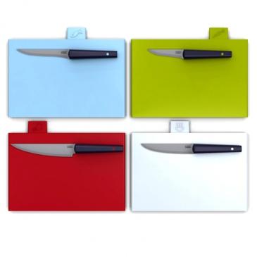 Deski do krojenia z nożami