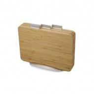 Deski kuchenne bambusowe 3szt. Joseph Joseph Index Bamboo brązowe