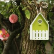 Domek dla ptaków EMSA Landhaus biało-zielony EM-514126