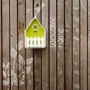 Domek dla ptaków EMSA Landhaus biało-zielony
