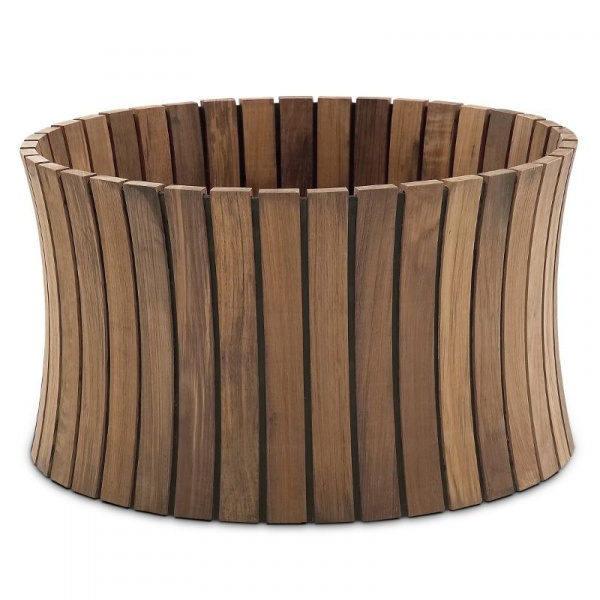 Donica drewniana Skagerak Bollard duża S1650600