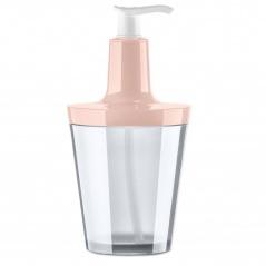 Dozownik do mydła 250 ml Koziol FLOW jasny róż/transparentny KZ-5879325