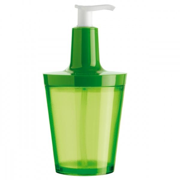 Dozownik do mydła Koziol Flow zielony KZ-5879543