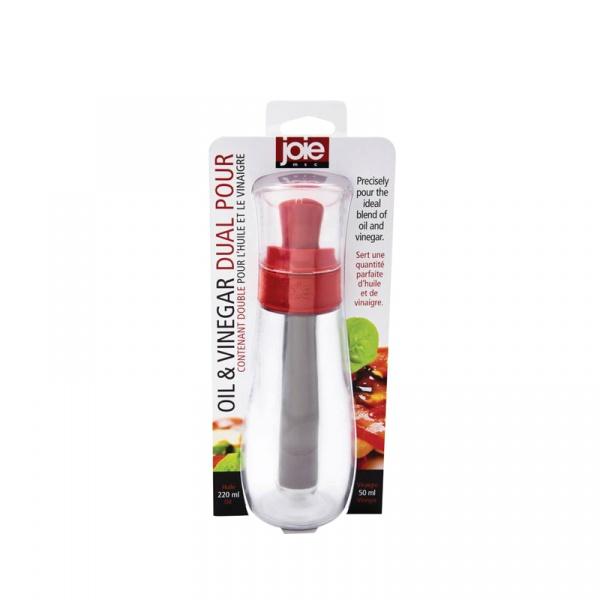 Dozownik do oliwy i octu 2w1 200/50ml MSC International czerwony MS-87901-CZE