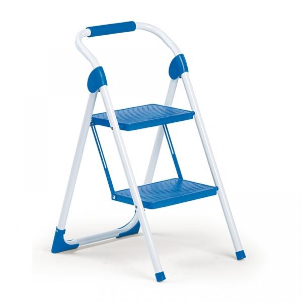 Drabinka dwustopniowa Meliconi Mini niebieska 8006023111923BLUE