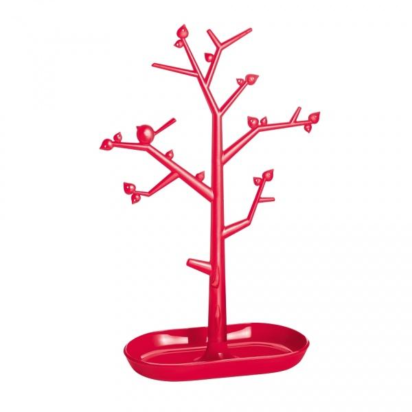 Drzewko na biżuterię Koziol Pi:p L malinowe KZ-5262103