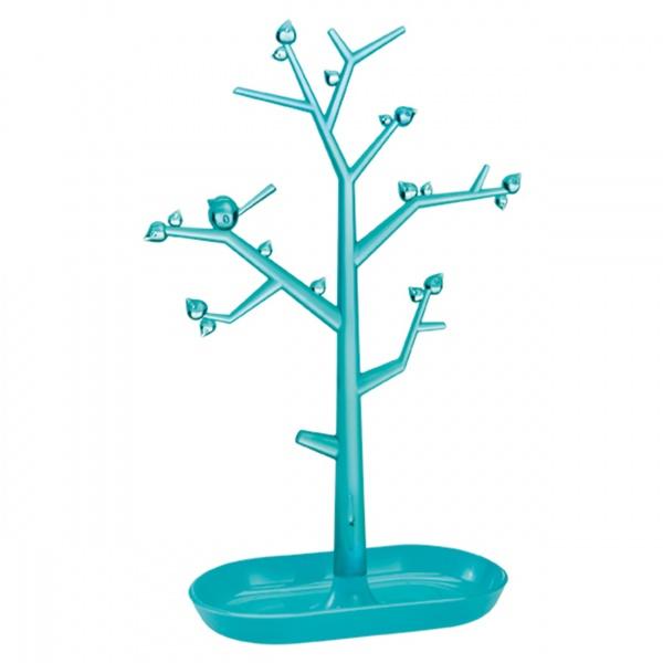 Drzewko na biżuterię Koziol Pi:p L turkusowe KZ-5262109