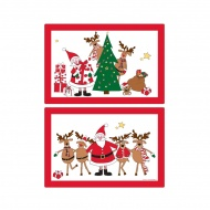 Dwustronna mata na stół 45x30cm Nuova R2S Christmas Collection