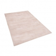 Dywan beżowy 140x200 cm krótkowłosy - chodnik - wiskoza - Bonifacio