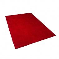 Dywan czerwony 140 x 200 cm Shaggy DEMRE
