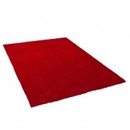 Dywan czerwony 200 x 200 cm Shaggy DEMRE