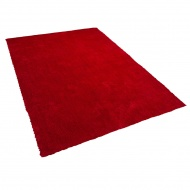 Dywan czerwony 200 x 300 cm Shaggy DEMRE