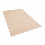 Dywan jasnobeżowy 140 x 200 cm Shaggy Vite
