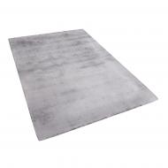 Dywan jasnoszary 140x200 cm krótkowłosy - chodnik - wiskoza - Bonifacio