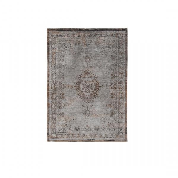 Dywan naturalny 140x200 cm Louis De Poortere Orient Grey Ebony brązowo szary 8257-140x200