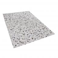 Dywan szaro-beżowy 160 x 230 cm skórzany Settembre BLmeble