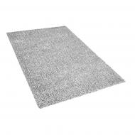 Dywan szary melanż 140 x 200 cm Shaggy Vite