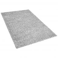 Dywan szary melanż 200 x 300 cm Shaggy Vite
