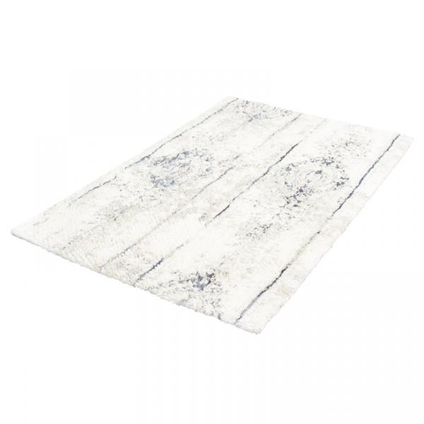 Dywanik łazienkowy 70 x 120 cm Kleine Wolke Caracas srebrnoszary KW-4065146225