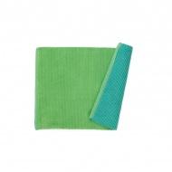 Dywanik łazienkowy 80x50cm Kela Hugo zielony/turkusowy