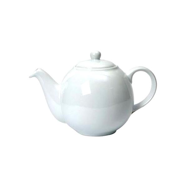 Dzbanek do herbaty 1,1 l London Pottery biały LP-17232110