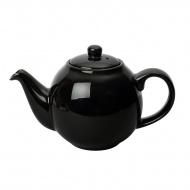 Dzbanek do herbaty 1,1 l London Pottery Globe czarny połysk