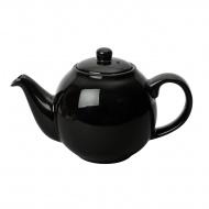 Dzbanek do herbaty 1,2 l London Pottery Globe czarny połysk