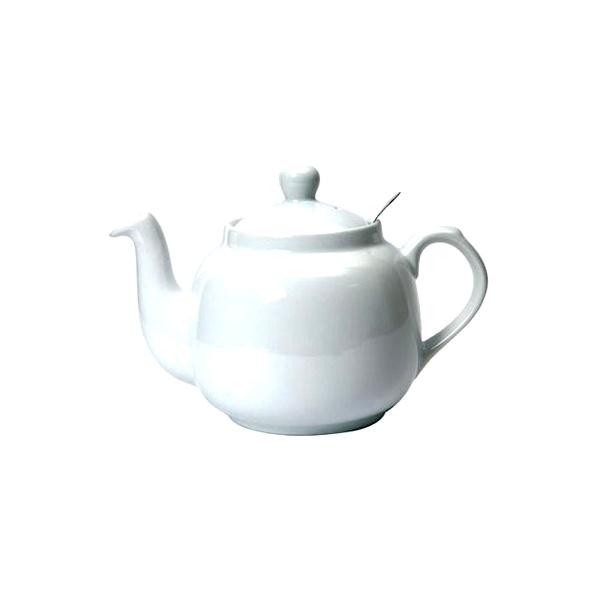 Dzbanek do herbaty z filtrem 0,6 l London Pottery biały LP-17272110