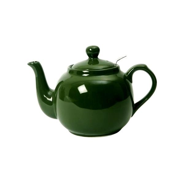 Dzbanek do herbaty z filtrem 0,6 l London Pottery zielony LP-17272100