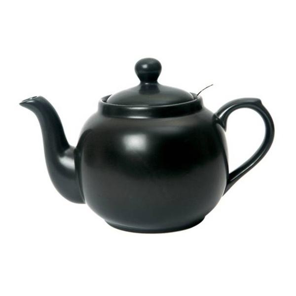 Dzbanek do herbaty z filtrem 1,2 l London Pottery czarny LP-17273280