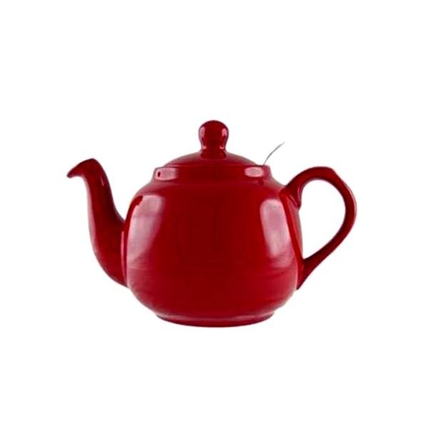 Dzbanek do herbaty z filtrem 1,2 l London Pottery czerwony LP-17273260