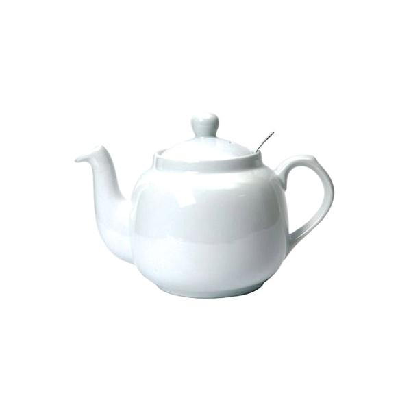 Dzbanek do herbaty z filtrem 1,8 l London Pottery biały LP-17274110