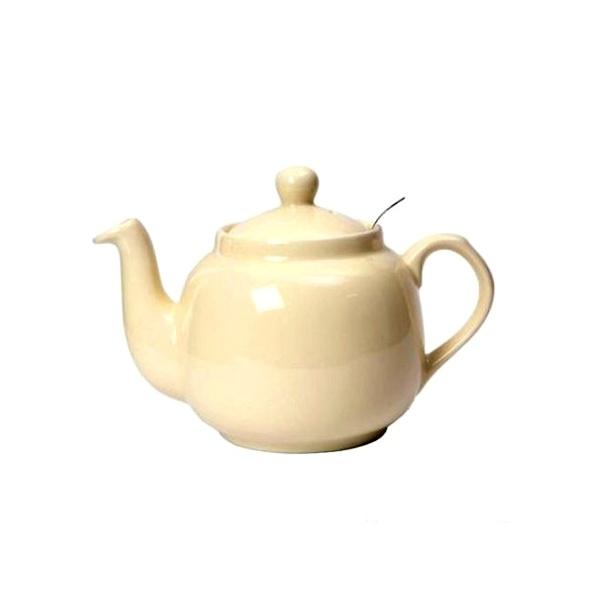 Dzbanek do herbaty z filtrem 1,8 l London Pottery kość słoniowa LP-17274150