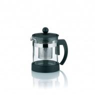 Dzbanek do herbaty z zaparzaczem 0,7 l Kela Auron czarny