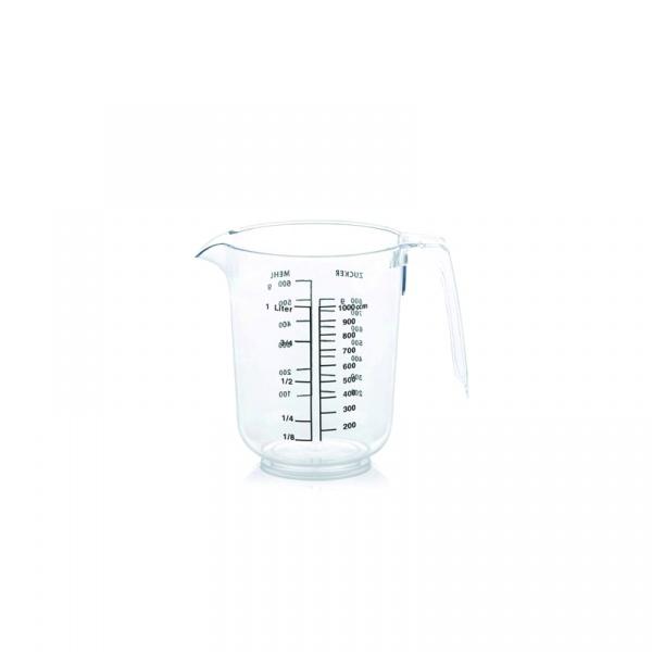 Dzbanek plastikowy z miarką 1,0 l Kela Jana przezroczysty KE-21055