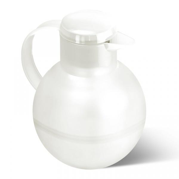 Dzbanek termiczny do herbaty z zaparzaczem 1 L EMSA Samba biały EM-509154